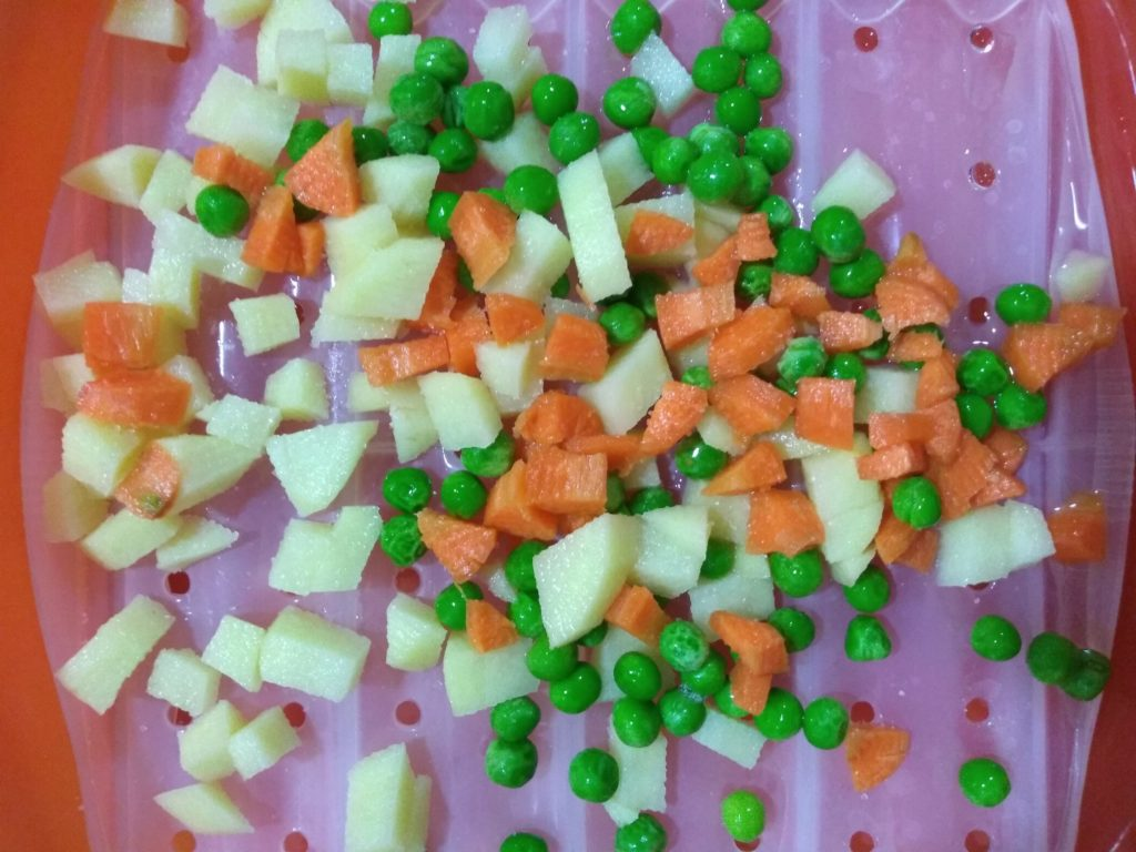 verduras en Lekue